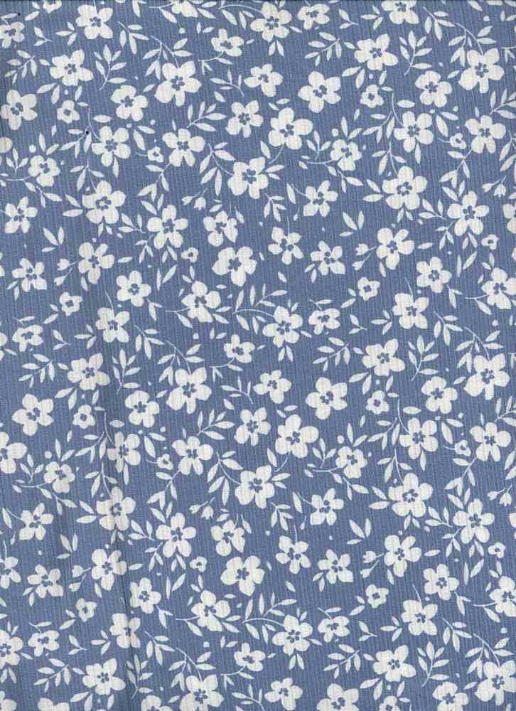 P2243-FL51483-Y / C4 BLUE/IVORY